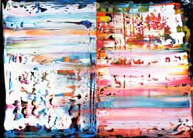 Obraz do salonu artysty Dominik Smolik pod tytułem Bez tytułu
