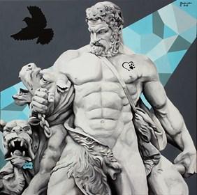 Obraz do salonu artysty Zuzanna Jankowska pod tytułem Behawiorysta