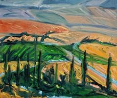 Obraz do salonu artysty Jacek Malinowski pod tytułem Toscana IX