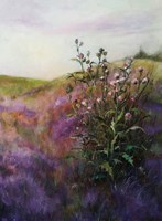 Obraz do salonu artysty Patrycja Kruszynska-Mikulska pod tytułem Krajobraz z ostami