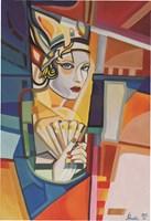 Obraz do salonu artysty Paweł Porada pod tytułem Elementy kobiecości