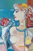 Obraz do salonu artysty Paweł Porada pod tytułem Kobiecość