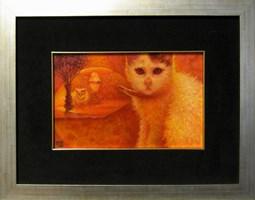 Obraz do salonu artysty Katarzyna Kania pod tytułem Kocie wspomnienia