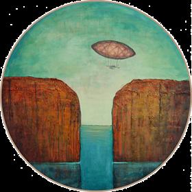 Obraz do salonu artysty Sabina Maria Grzyb pod tytułem Voltare II