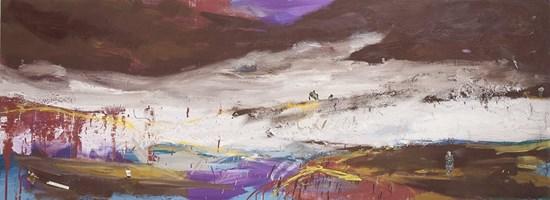 Obraz do salonu artysty Piotr Szwabe pod tytułem Bez tytułu part 2