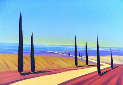 Obraz do salonu artysty Jacek Malinowski pod tytułem Toscana XXXI