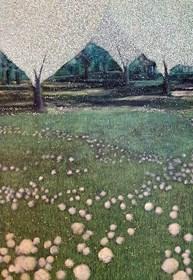 Obraz do salonu artysty Jacek Malinowski pod tytułem Z cyklu Arboretum - Dyptyk cz. I