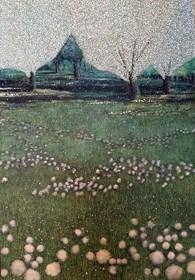 Obraz do salonu artysty Jacek Malinowski pod tytułem Z cyklu Arboretum - Dyptyk cz. II