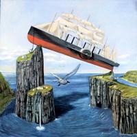 Obraz do salonu artysty Adam Swoboda pod tytułem Hydro zagadkaWysp Owczych