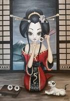 Obraz do salonu artysty Estera Parysz-Mroczkowska pod tytułem  I <3 sushi