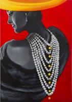 Obraz do salonu artysty Michał Zalewski pod tytułem Cenniejsza niż perły