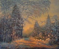 Obraz do salonu artysty Leonid  Dudiy pod tytułem Zima
