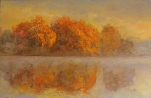 Obraz do salonu artysty Leonid  Dudiy pod tytułem Jesień