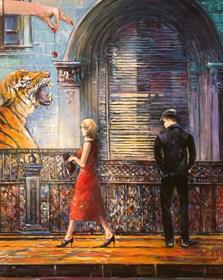 Obraz do salonu artysty Piotr Rembieliński pod tytułem Wisienka