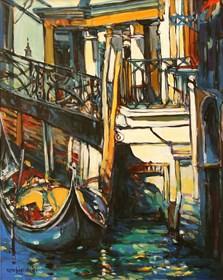 Obraz do salonu artysty Piotr Rembieliński pod tytułem Wenecja IV
