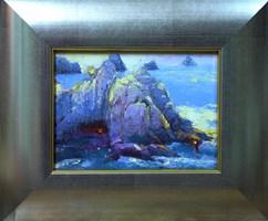 Obraz do salonu artysty Wacław Jagielski pod tytułem Na klifie