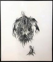 Obraz do salonu artysty Bożena Wahl pod tytułem Pies 1