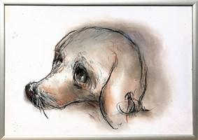Obraz do salonu artysty Bożena Wahl pod tytułem Bez tytułu 1 pastel