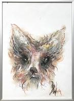 Obraz do salonu artysty Bożena Wahl pod tytułem Bez tytułu 2 pastel