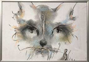 Obraz do salonu artysty Bożena Wahl pod tytułem Bez tytułu 4 pastel