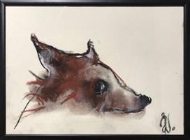 Obraz do salonu artysty Bożena Wahl pod tytułem Bez tytułu 5 pastel