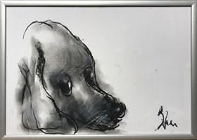 Obraz do salonu artysty Bożena Wahl pod tytułem Bez tytułu 6 pastel