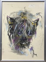 Obraz do salonu artysty Bożena Wahl pod tytułem Bez tytułu 7 pastel