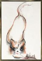 Obraz do salonu artysty Bożena Wahl pod tytułem Bez tytułu 8 pastel