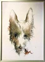 Obraz do salonu artysty Bożena Wahl pod tytułem Bez tytułu 9 pastel