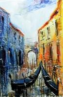 Obraz do salonu artysty Dariusz Grajek pod tytułem Wenecja....