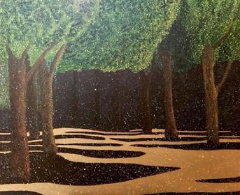 Obraz do salonu artysty Jacek Malinowski pod tytułem Arboretum