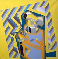 Obraz do salonu artysty Marcin Kowalik pod tytułem Astronom 2