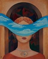 Obraz do salonu artysty Malwina de Brade pod tytułem Oko