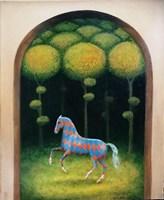 Obraz do salonu artysty Malwina de Brade pod tytułem Pokaz