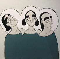 Obraz do salonu artysty Paulina Korbaczyńska pod tytułem We własnej osobie