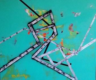 Obraz do salonu artysty Magdalena Karwowska pod tytułem Bez tytułu1