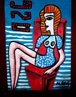 Obraz do salonu artysty Mirosław Śledź pod tytułem Untiled 001