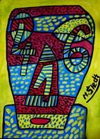 Obraz do salonu artysty Mirosław Śledź pod tytułem Untiled 002