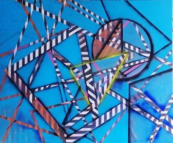 Obraz do salonu artysty Magdalena Karwowska pod tytułem Bez tytułu2