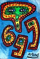 Obraz do salonu artysty Mirosław Śledź pod tytułem Untiled 012