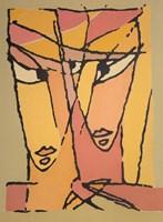 Obraz do salonu artysty Bohdan  Łoboda pod tytułem Przenikanie