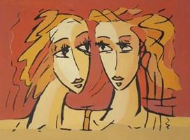 Obraz do salonu artysty Bohdan  Łoboda pod tytułem Refleksje