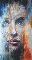 Living room painting by J. Aurelia Sikiewicz-Wojtaszek titled Senses