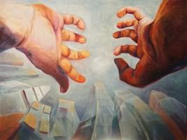 Obraz do salonu artysty Iwona Duda pod tytułem Poranek