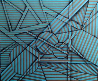 Obraz do salonu artysty Magdalena Karwowska pod tytułem Bez tytułu6