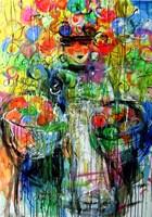 Obraz do salonu artysty Dariusz Grajek pod tytułem Kobieta z owocami....
