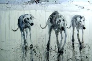 Obraz do salonu artysty Dariusz Grajek pod tytułem Stado....