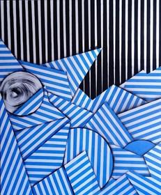 Obraz do salonu artysty Magdalena Karwowska pod tytułem Bez tytułu7