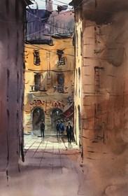 Obraz do salonu artysty Aleksander Yasin pod tytułem Poranne światło