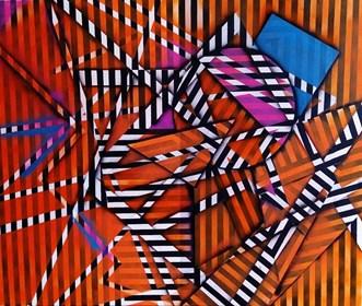 Obraz do salonu artysty Magdalena Karwowska pod tytułem Bez tytułu8